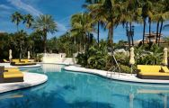 The Trump National Doral Miami's beautiful main pool situated in sensational Florida.