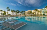The Westin Puntacana Resort  Club's picturesque main pool in spectacular Dominican Republic.