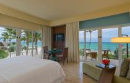 The Westin Puntacana Resort  Club's lovely sea view double bedroom in dramatic Dominican Republic.