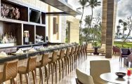 The Westin Puntacana Resort  Club's scenic bar area within magnificent Dominican Republic.
