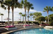 The Westin Hilton Head Island Resort  Spa's scenic outdoor pool in vibrant South Carolina.