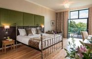 The Vale Resort's lovely double bedroom in pleasing Wales.