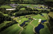 The Vale Resort's beautiful golf course situated in faultless Wales.
