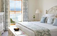 View The Plettenberg Hotel's lovely sea view double bedroom situated in brilliant South Africa.