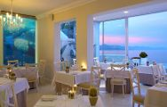 The Plettenberg Hotel's scenic sea view restaurant within breathtaking South Africa.
