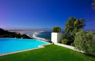The Plettenberg Hotel's beautiful pool by the beach within staggering South Africa.