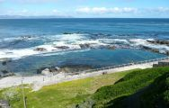 The Marine Hermanus's scenic sea view situated in gorgeous South Africa.