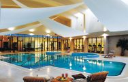 The K Club Hotel  Resort's impressive indoor pool within incredible Southern Ireland.