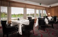 The K Club Hotel  Resort's impressive restaurant in spectacular Southern Ireland.