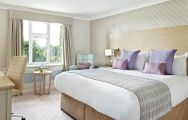 The Belfry Hotel  Resort's lovely double bedroom within magnificent West Midlands.