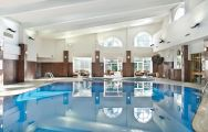 The Belfry Hotel  Resort's impressive main pool within impressive West Midlands.