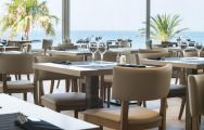 The Hotel Estival Torrequebrada's beautiful restaurant situated in spectacular Costa Del Sol.