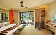 The Tamarina Golf  Spa Boutique Hotel's beautiful sea view double bedroom within pleasing Mauritius.