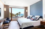 The Son Caliu Hotel  Spa Oasis's picturesque double bedroom within gorgeous Mallorca.