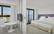 The Sol House Aloha Hotel's impressive double bedroom situated in striking Costa Del Sol.