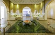 The Sofitel Marrakech Lounge  Spa Hotel's lovely lounge area in stunning Morocco.