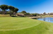 View Islantilla Golf Resort Hotel's lovely golf course in brilliant Costa de la Luz.