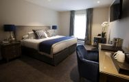 The Sandford Springs Hotel  Golf Club's beautiful double bedroom within fantastic Hampshire.