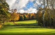 View Sandford Springs Hotel  Golf Club's impressive golf course situated in incredible Hampshire.