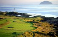 All The Trump Turnberry Golf's beautiful golf course within impressive Scotland.