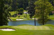 The Woodside Plantation Country Club's impressive golf course within brilliant South Carolina.
