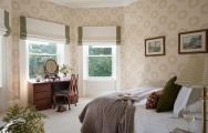 The Ardtara Country House's lovely double bedroom within striking Northern Ireland.