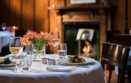 The Ardtara Country House's beautiful restaurant situated in sensational Northern Ireland.