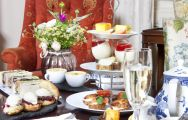 The Ardtara Country House's beautiful afternoon tea situated in incredible Northern Ireland.