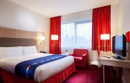 The Park Inn by Radisson Belfast Hotel's impressive double room in incredible Northern Ireland.