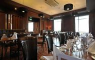 The Portrush Atlantic Hotel's beautiful restaurant situated in vibrant Northern Ireland.