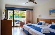 The Playa Marina Spa Hotel's beautiful double bedroom in magnificent Costa de la Luz.