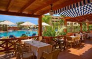 The Playa Marina Spa Hotel's impressive restaurant within astounding Costa de la Luz.