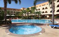Playa Marina Spa Hotel's main pool within stunning Costa de la Luz.