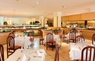 The Paradise Park Hotel's impressive restaurant within pleasing Tenerife.