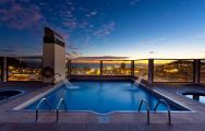 View Paradise Park Hotel's impressive rooftop pool situated in incredible Tenerife.
