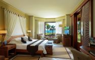 The Paradis Beachcomber Golf Resort  Spa's scenic double bedroom situated in gorgeous Mauritius.