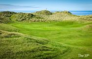 The Machrihanish Dunes's impressive golf course situated in vibrant Scotland.
