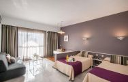 The Hotel PYR Marbella's picturesque twin room within gorgeous Costa Del Sol.