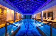 View Old Course Hotel's lovely indoor pool within magnificent Scotland.