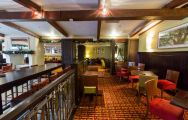 The Marriott Forest Of Arden's beautiful Oakes Bar  Grill in amazing West Midlands.