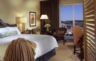 The Marina Inn at Grande Dunes's impressive double bedroom situated in amazing South Carolina.
