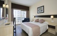 The Marconfort Griego Hotel's lovely double bedroom within stunning Costa Del Sol.