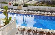 The Marconfort Griego Hotel's picturesque main pool situated in sensational Costa Del Sol.