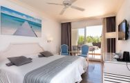 The MAC Hotel Puerto Marina's impressive double bedroom within astounding Costa Del Sol.