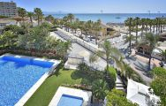 The MAC Hotel Puerto Marina's scenic beach view within breathtaking Costa Del Sol.