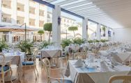 The MAC Hotel Puerto Marina's beautiful restaurant within amazing Costa Del Sol.