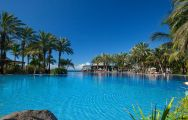 The Lopesan Costa Meloneras Hotel's impressive main pool situated in magnificent Gran Canaria.