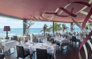 The Lopesan Costa Meloneras Hotel's impressive restaurant situated in dazzling Gran Canaria.