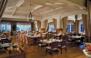 The Kiawah Island Golf Resort's scenic restaurant situated in gorgeous South Carolina.