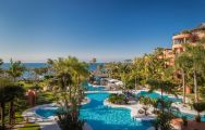 The Kempinski Hotel Bahia's picturesque main pool situated in sensational Costa Del Sol.